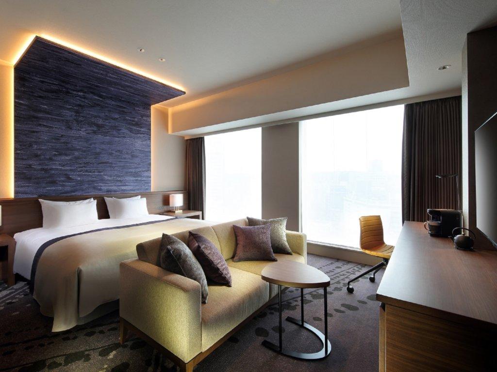 ห้องพักแสนสะดวกสบายของโรงแรม Metropolitan Hotel Sendai East