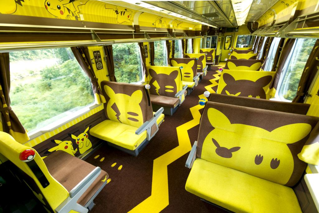 ภายใน Joyful Train [Pokemon with YOU]