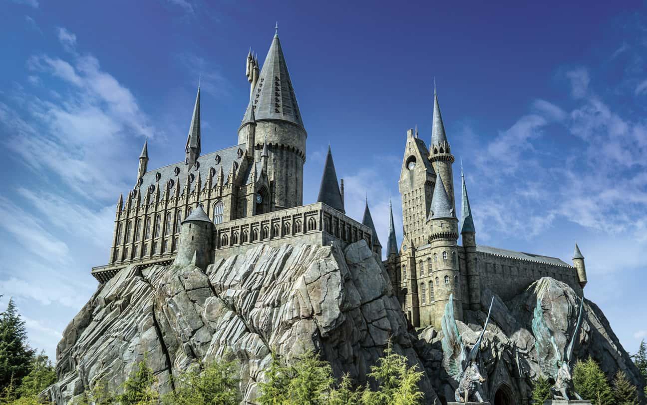 วิธีไปโอซาก้า (Osaka) - ปราสาทฮอกวอร์ตในโซน Harry Potter and the Forbidden Journey™ ภายในสวนสนุกUniversal Studios Japan™