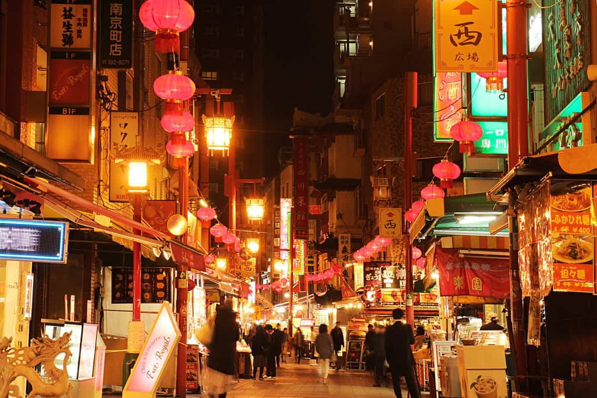วิธีไปโกเบ (Kobe) - นันกิจมาจิ (Nankinmachi) หรือไชน่าทาวน์โกเบ