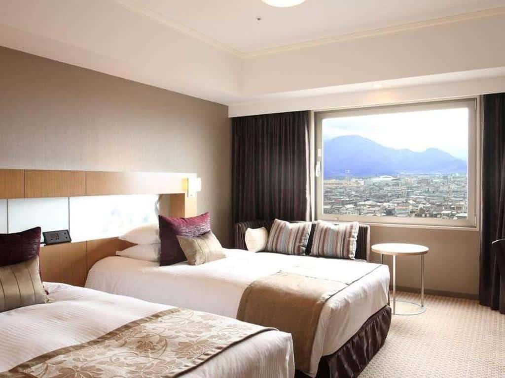 ห้องพักของโรงแรม Hotel Metropolitan Nagano