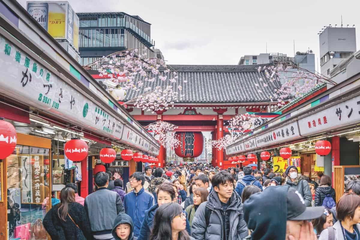 7 ย่านสุดฮิตโตเกียว : อาซากุสะ (Asakusa)
