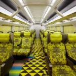 Genbi Shinkansen Interior (Reserved Seats)