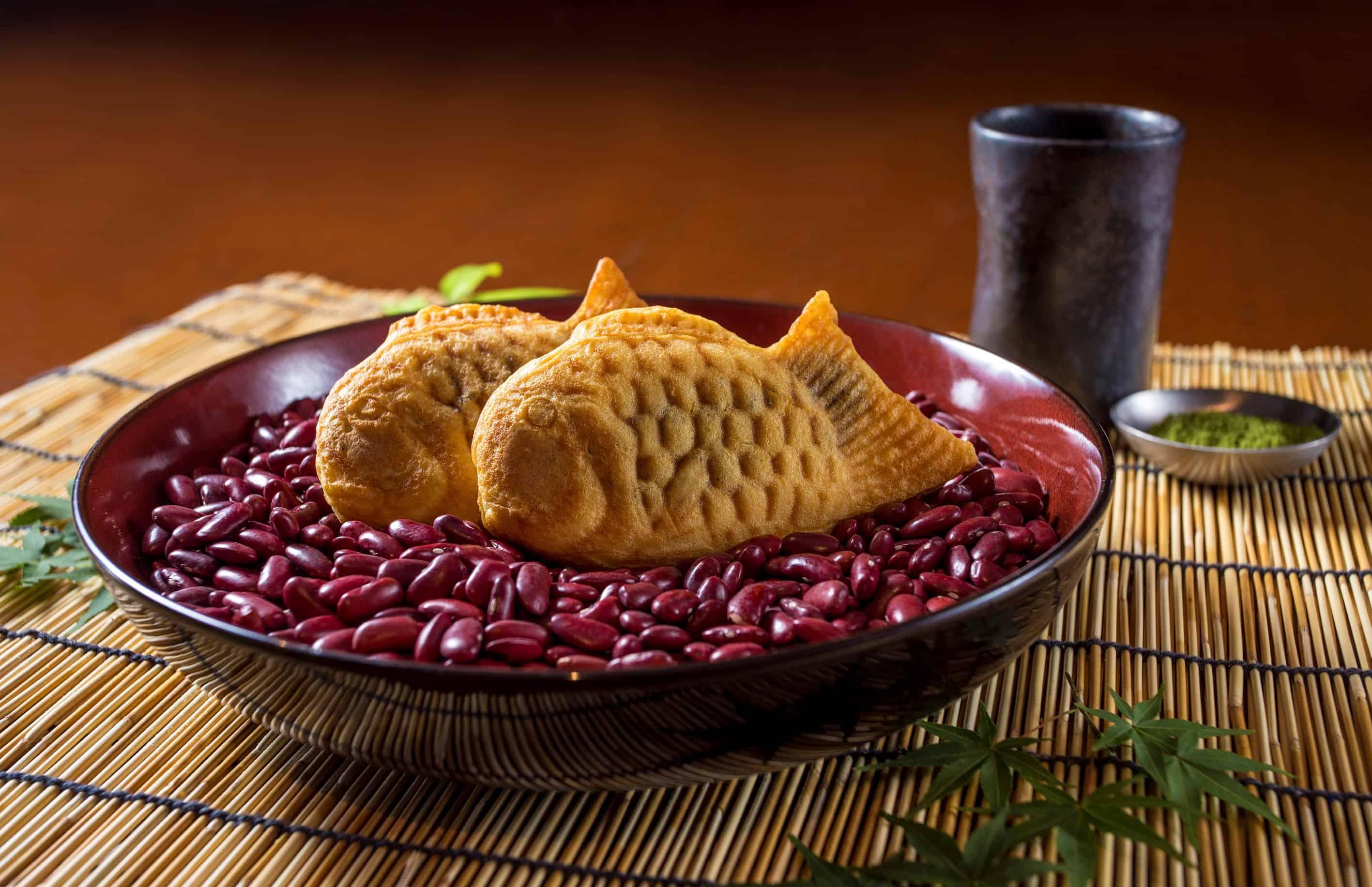 ไทยากิ (ขนมรูปปลาญี่ปุ่น) จาก โกจิ คิทเช่น + บาร์ (Goji Kitchen + Bar)