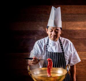 """ชาบูภายในงานเทศกาลอาหารญี่ปุ่นหรือ """"วา-โชกุ-มัตสุริ"""" (Wa-Shoku-Matsuri)"""
