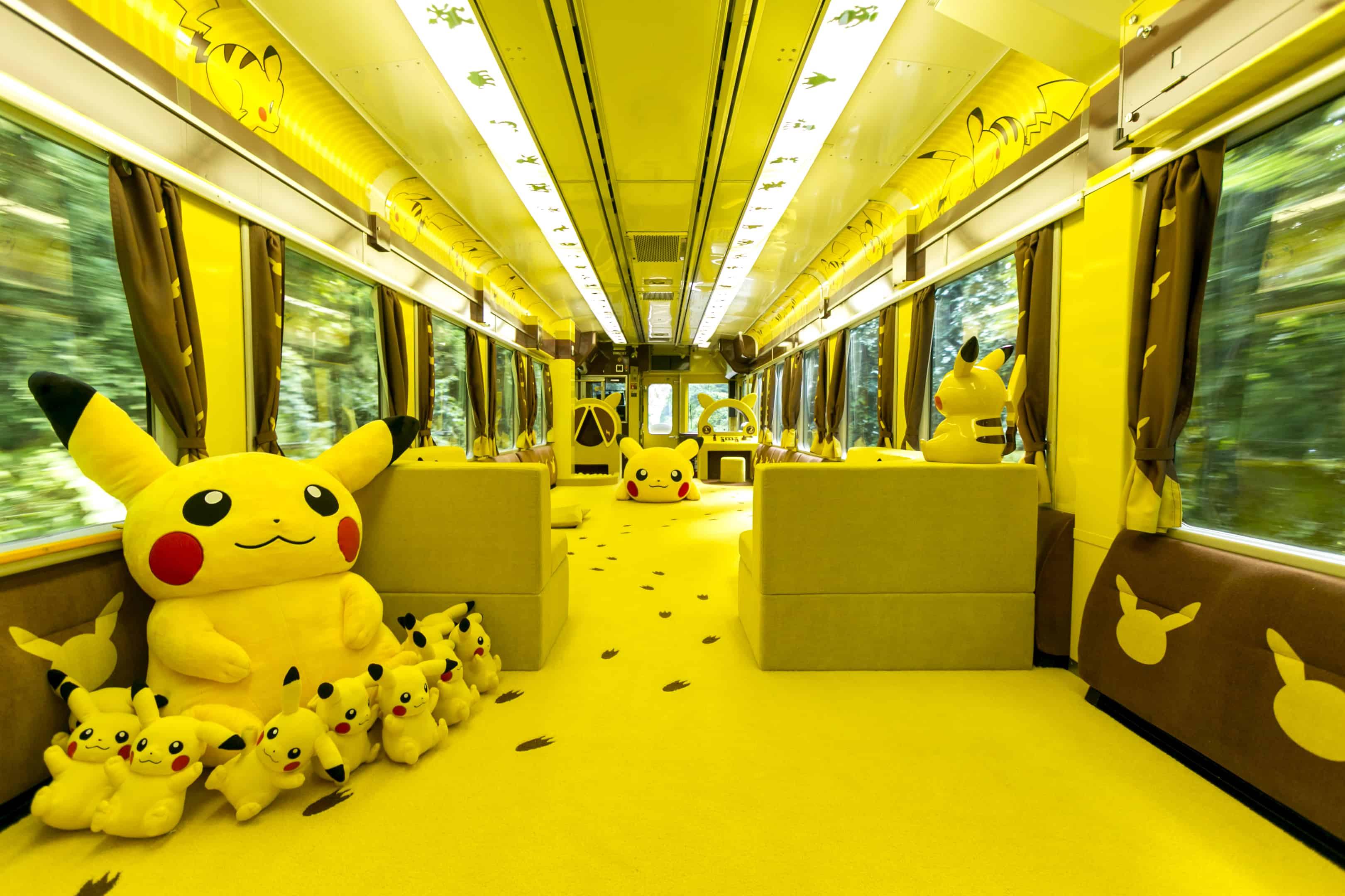 โบกี้ Playroom ที่สามารถเล่นกับตุ๊กตาปิกะจูได้