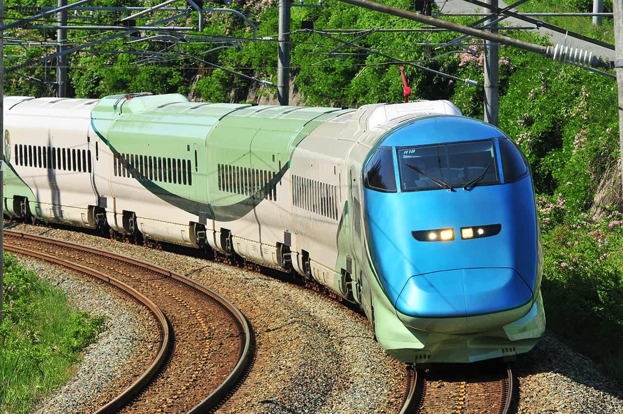 ด้านนอกของรถไฟ Toreiyu Tsubasa