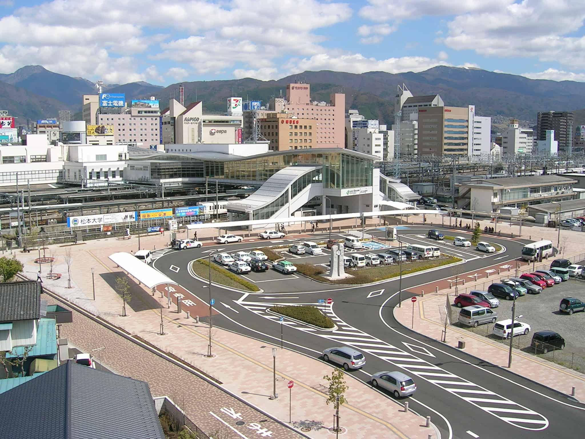 สถานีมัตสึโมโตะ จุดเชื่อมต่อไปยังเมืองอื่นๆ
