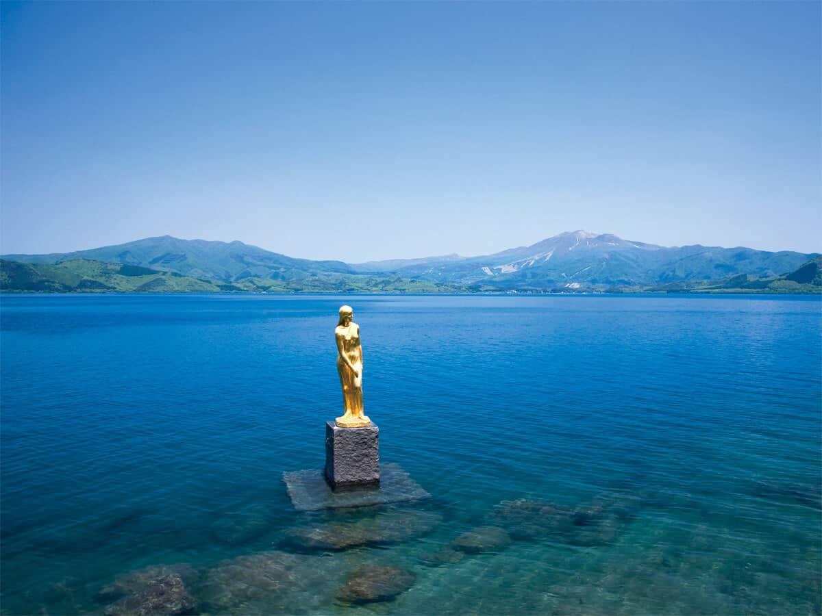 ทะเลสาบทาซาว่า (Lake Tazawa) จังหวัดอาคิตะ