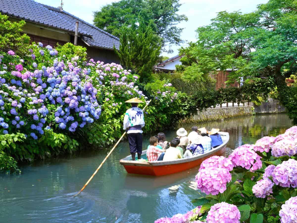 เส้นทาง ล่องเรือชมวิวญี่ปุ่น : ยานากาว่า (Yanagawa)