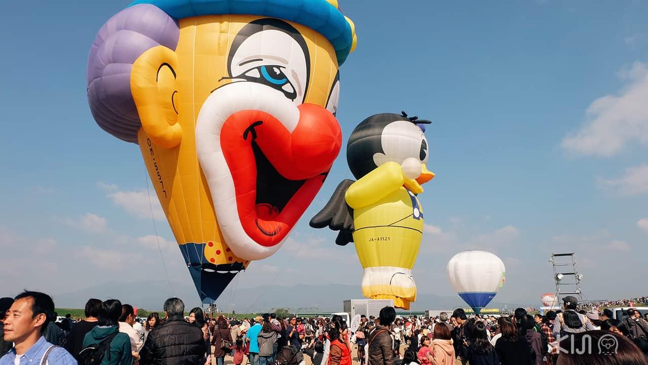 balloons of Saga International Balloon Fiesta