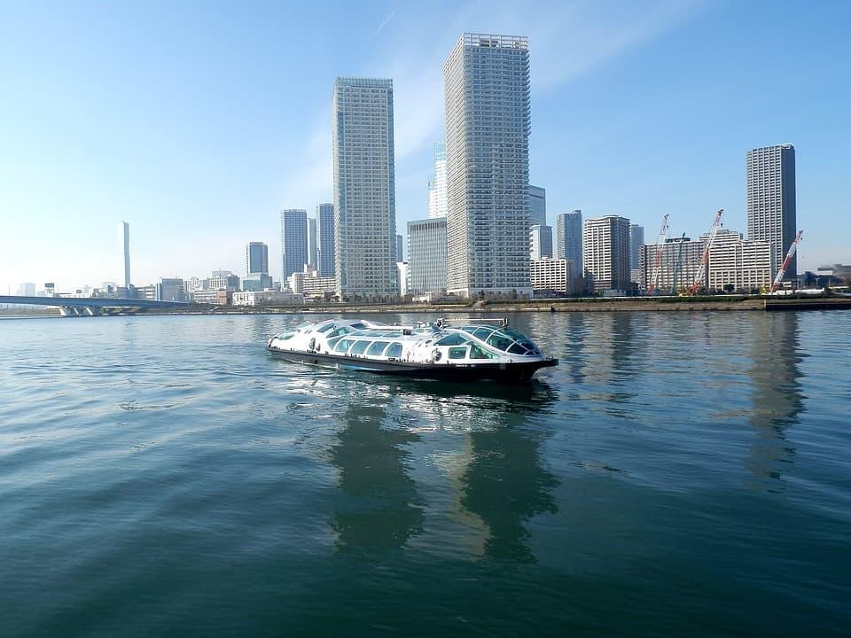 เส้นทาง ล่องเรือชมวิวญี่ปุ่น : โตเกียว (Tokyo)