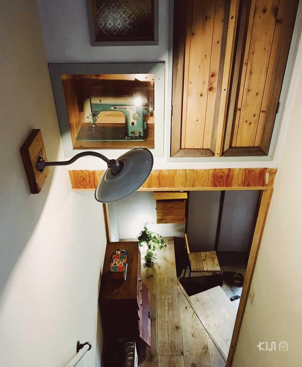 ภายในเกสต์เฮ้าส์ Tokyo Hikari Guesthouse