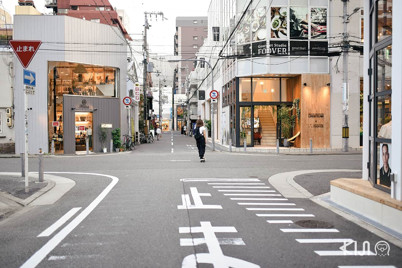 Orange Street (Horie Tachibana), Osaka