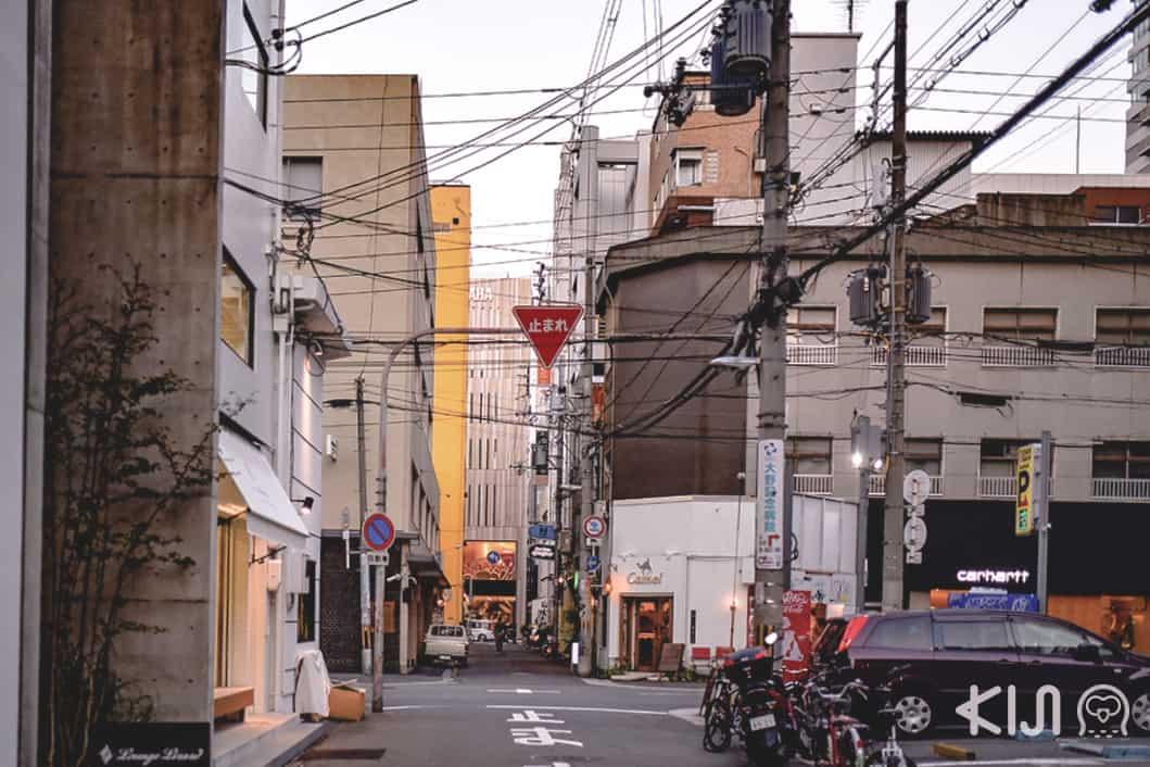 Horie Tachibana, Osaka