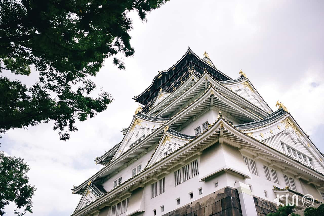 ปราสาทโอซาก้า (Osaka Castle)
