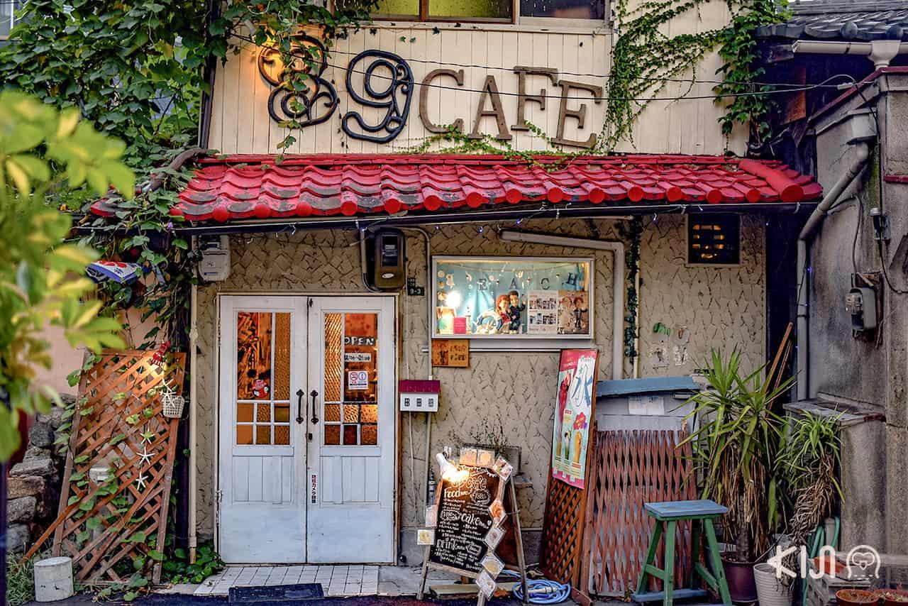 ร้านคาเฟ่น่ารักย่าน Nakazakicho ในโอซาก้า