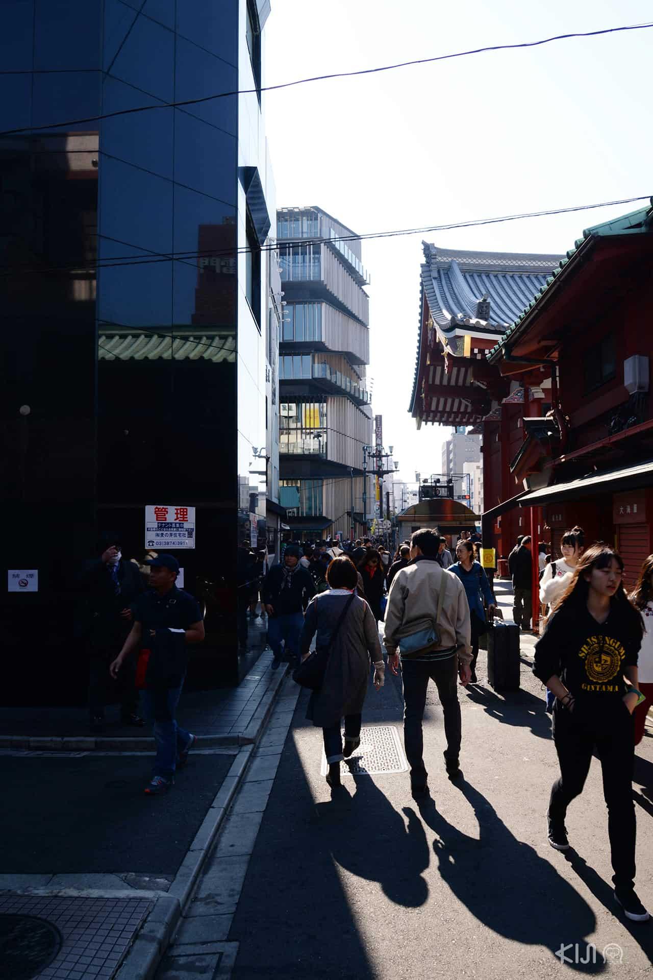 ย่านอาซากุสะในโตเกียว
