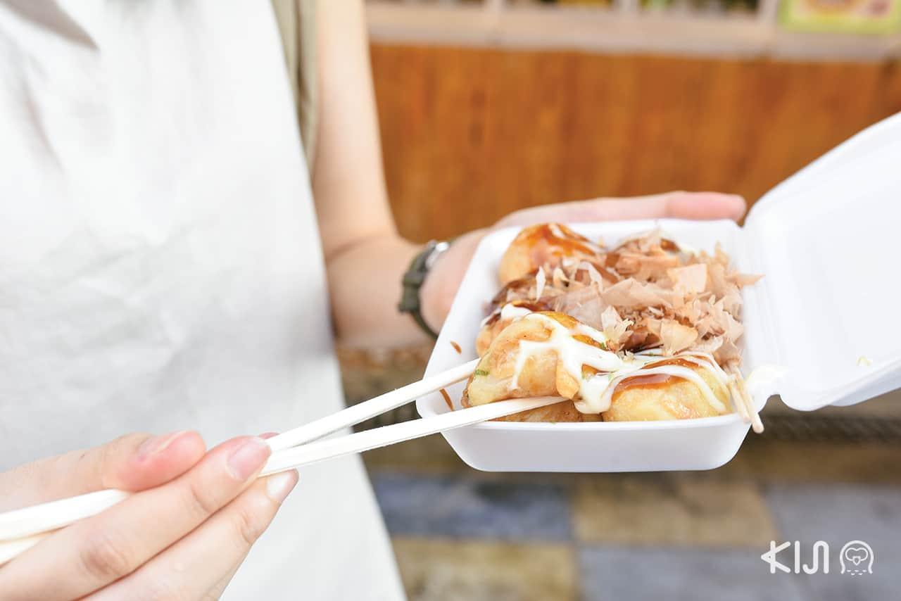 Takoyaki たこ焼き