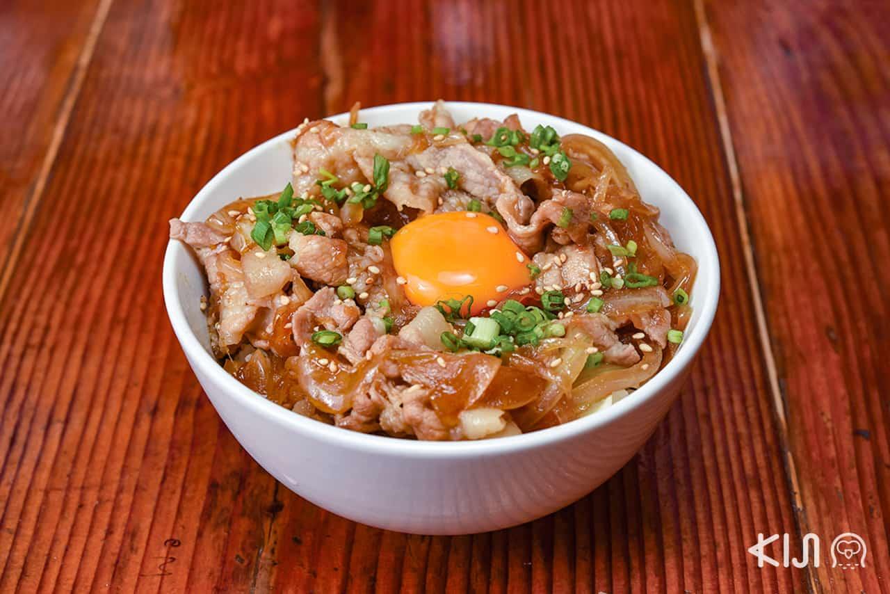เมนูอาหารจากร้านเซนได คามาจินยะ (Sendai Kamajinya)