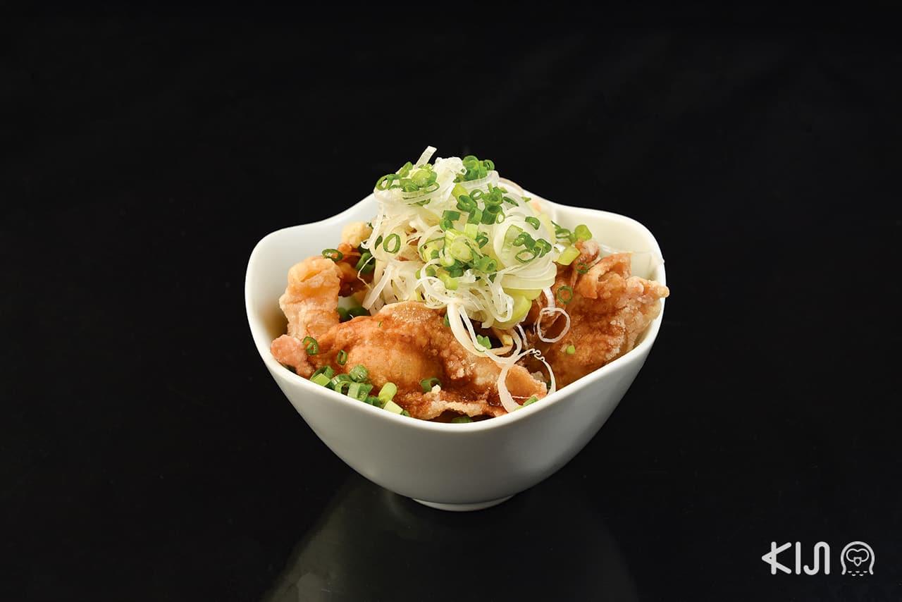 เมนูอาหารของร้านโนจิยะ / ยูชิราเมน (Nojiya / Yushi Ramen)