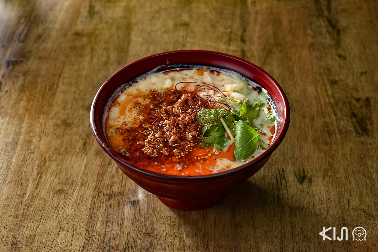 ร้าน Cocoro Japanese Cuisine : Tounyu Tantanmen (180/210 บาท)