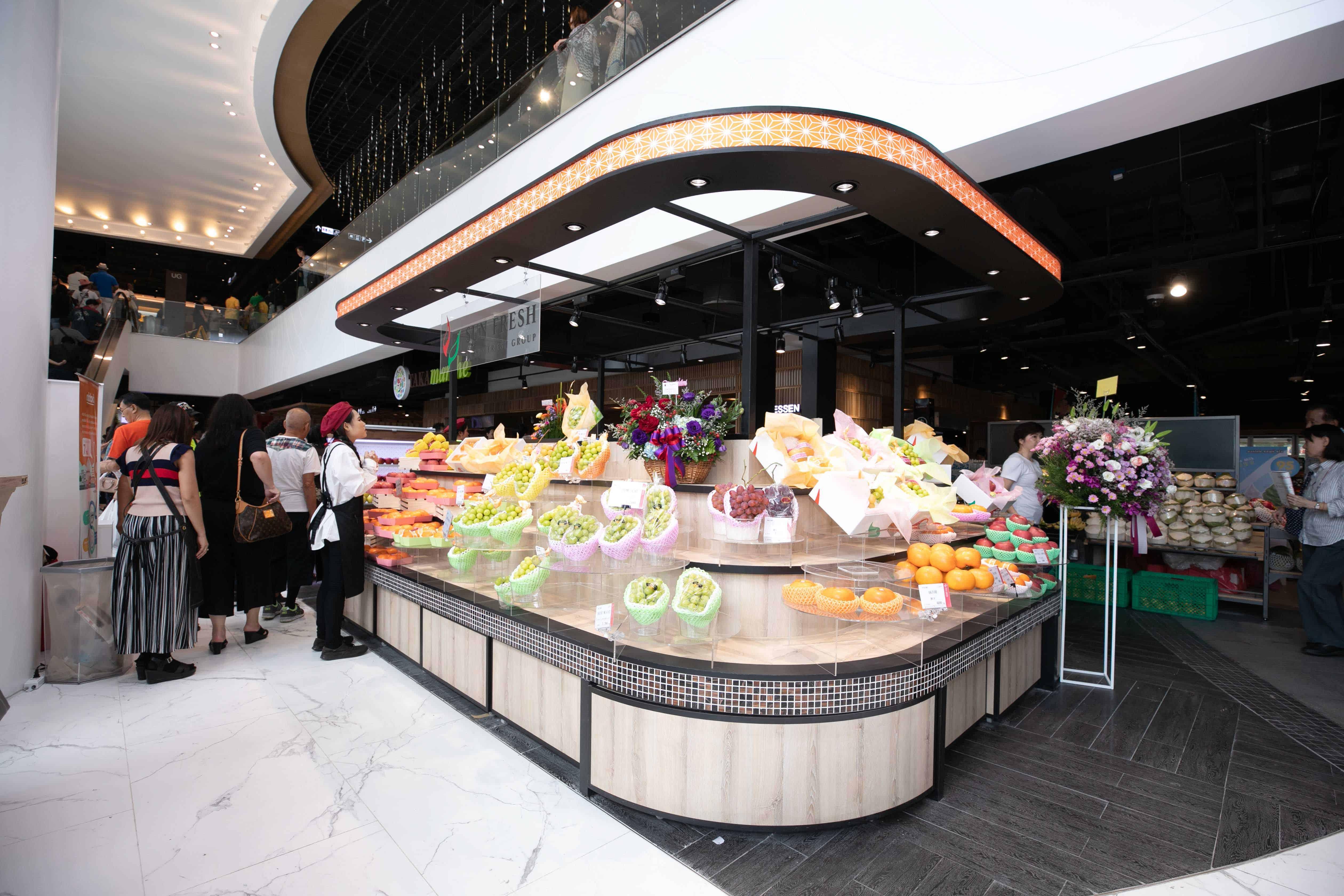 ชั้น G แผนกอาหารญี่ปุ่นที่ห้างสยามทาคาชิมายะ (Siam Takashimaya)