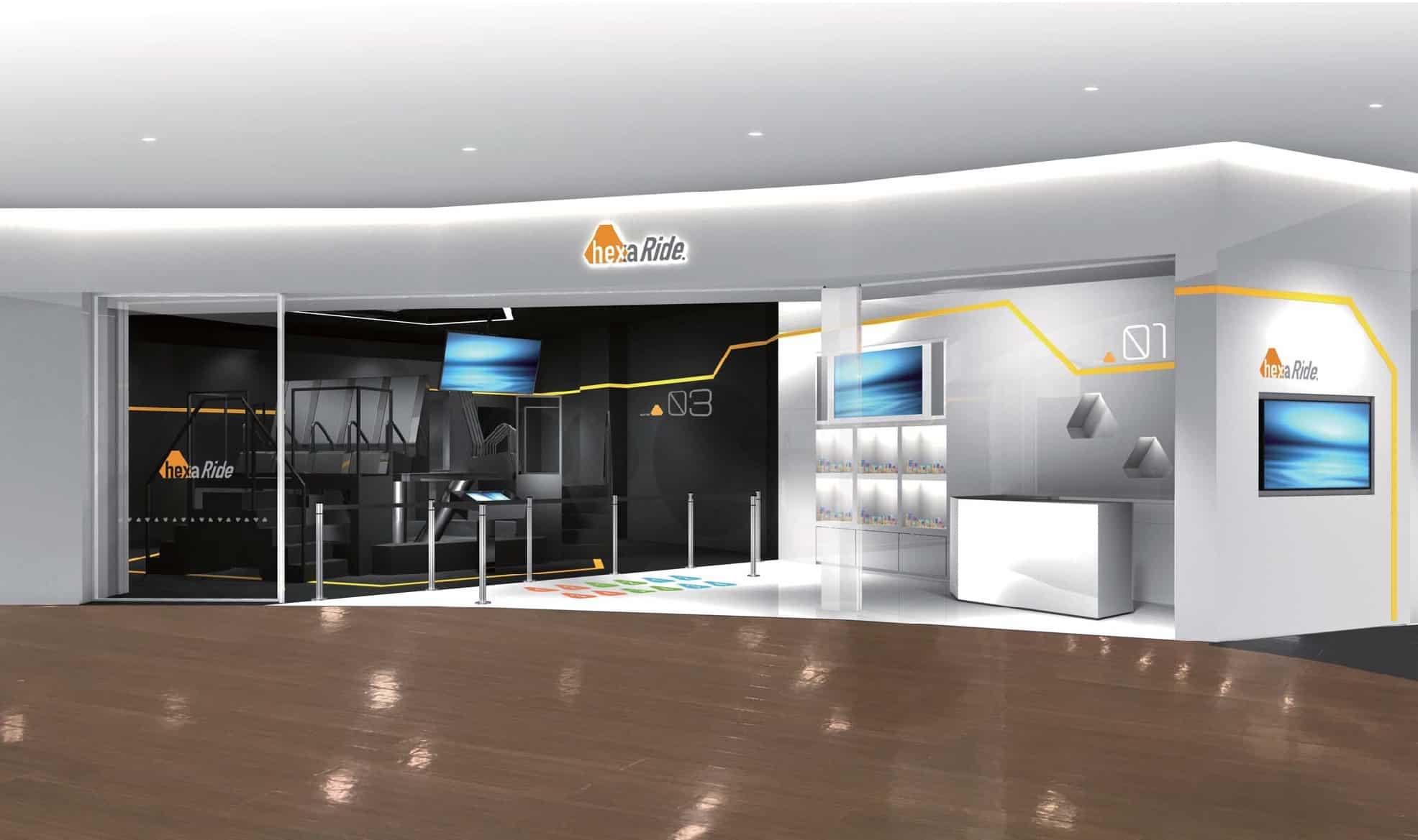 hexaRide VR สวนสนุกระบบเทคโนโลยีล้ำสมัยที่แรกของญี่ปุ่น