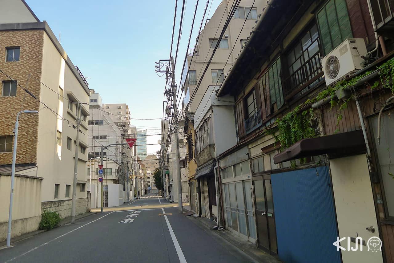 โซนถนน Asakusa Dori