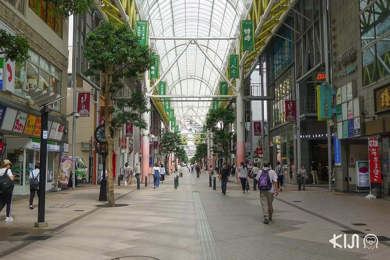 ถนนสายช็อปปิ้ง Ichibancho Arcade