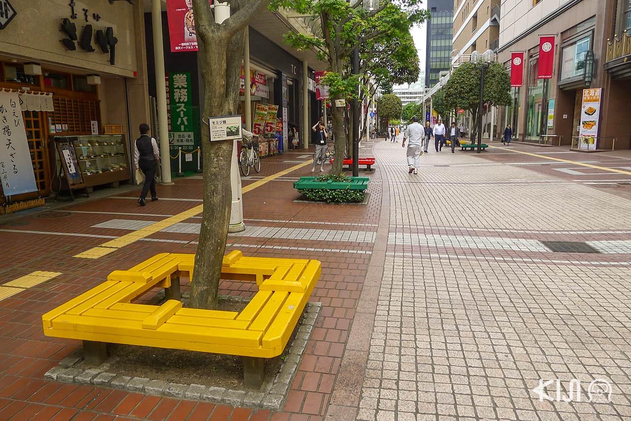 ถนนคนเดิน Ichibancho Arcade