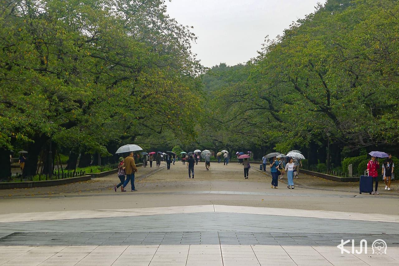 Ueno Park สวนสาธารณะที่อยู่ติดกับสถานีอุเอโนะ