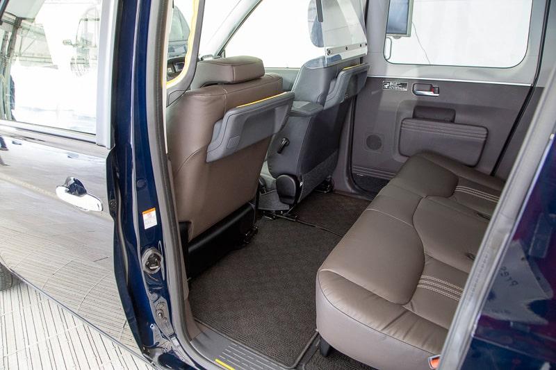 Toyota JPN Taxi Concept : ที่นั่งแบบปกติ