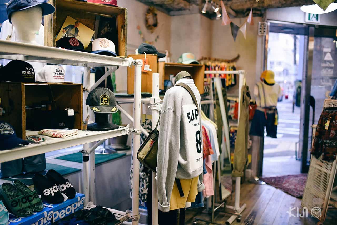 เสื้อผ้าที่ถนน Orange Street