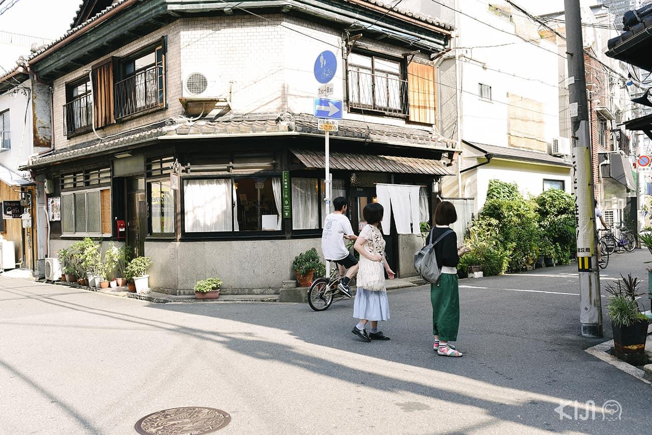 บรรยากาศย่าน Nakazakicho ในโอซาก้า