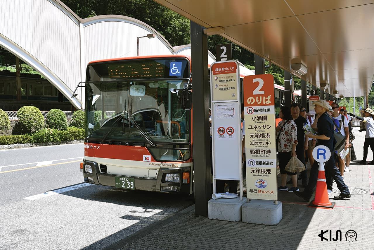 นั่งรถบัสเที่ยวฮาโกเน่ (Hakone) และคามาคุระ (Kamakura)
