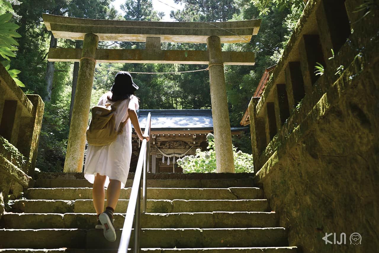 ศาลเจ้าที่เมืองฮาโกเน่ (Hakone)