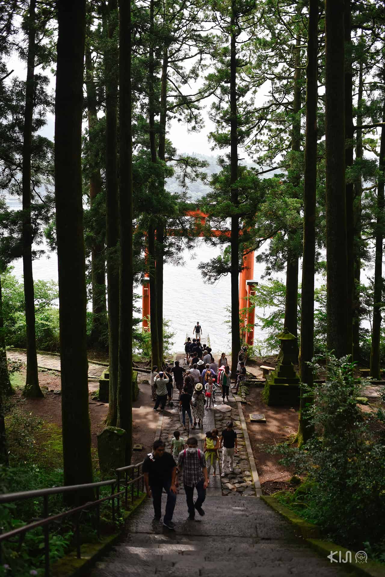 วิวที่ศาสเจ้าฮาโกเน่ (Hakone Shrine)