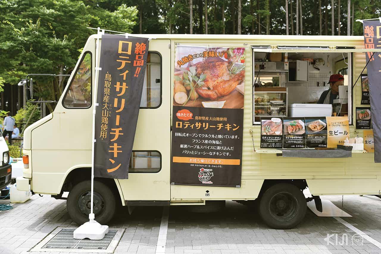 ร้านขายอาหารน่ากินที่ Mishima Skywalk