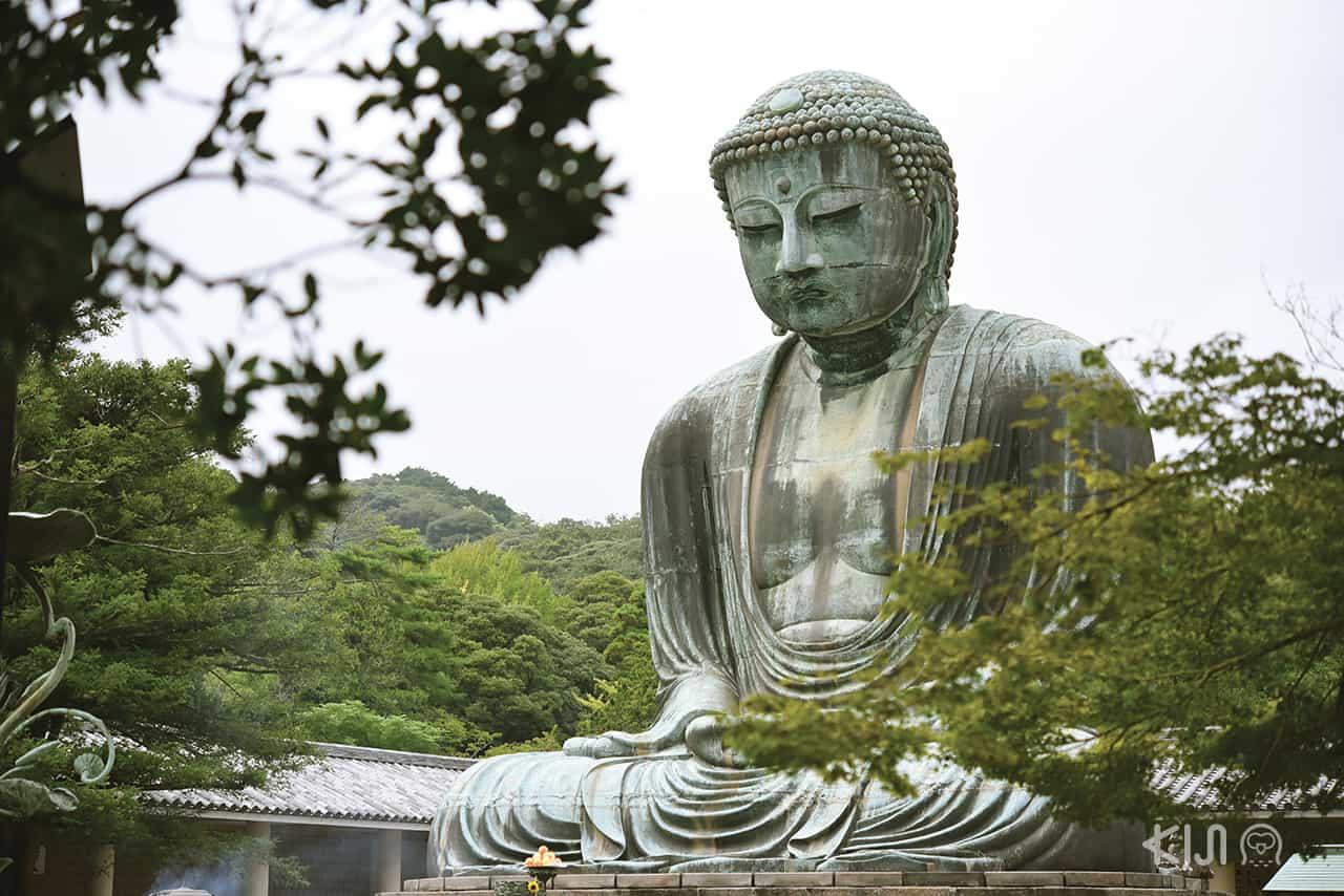 พระใหญ่ไดบุทสึ (Daibutsu) ที่ Kotoku-in Temple