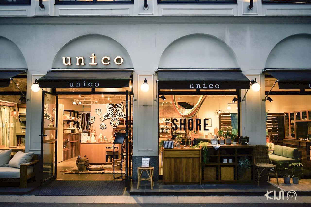 ร้าน unico ที่ถนน Orange Street ในโอซาก้า