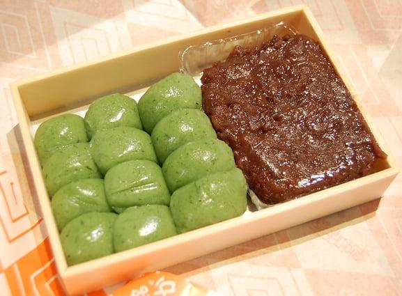 ขนม Kusa Dango ขนมขึ้นชื่อย่านชิบามาตะ