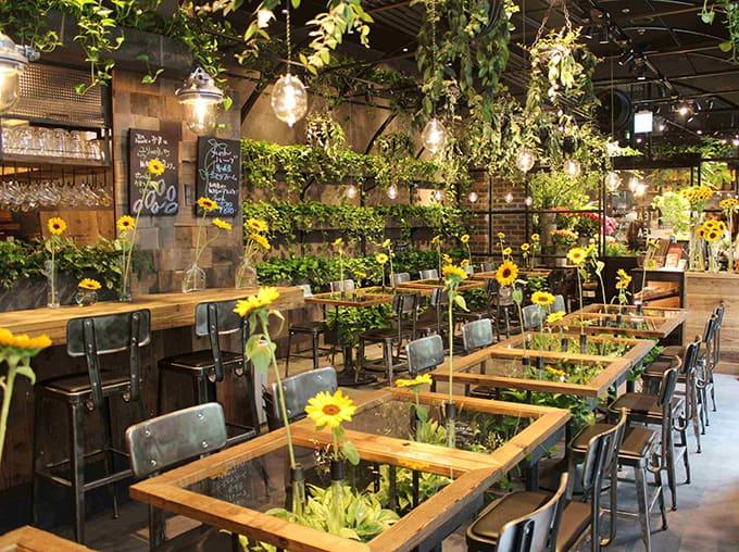 ร้าน Aoyama Flower Market Tea House