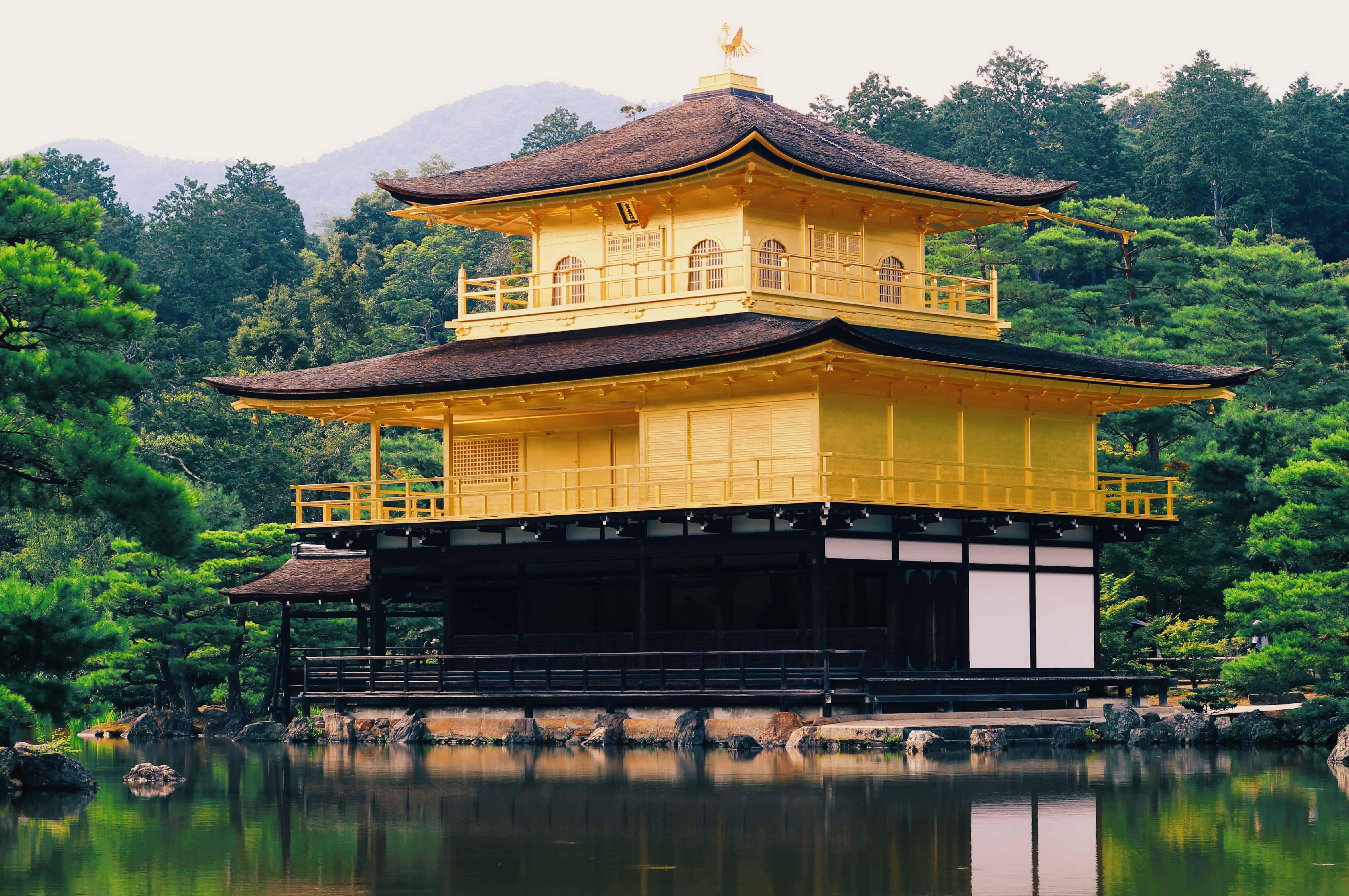7 โลเคชั่นจากผม แมว และการเดินทางของเรา : วัดคินคะคุจิ (Kinkakuji Temple : 金閣寺)