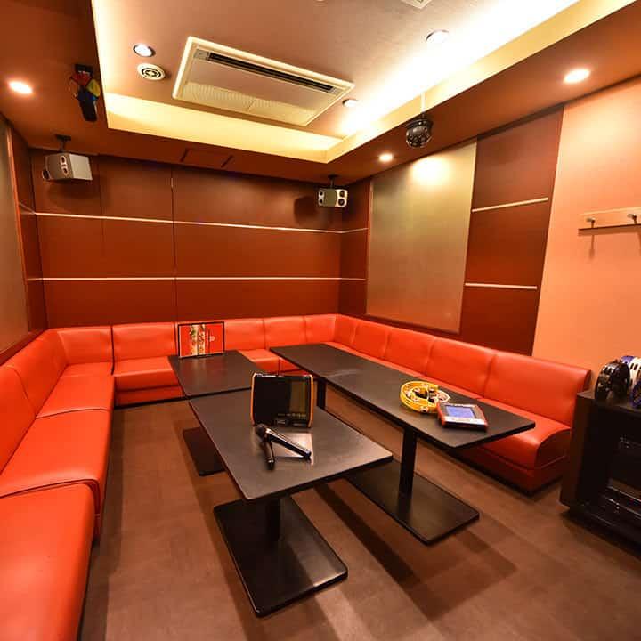 ห้องคาราโอเกะแบบทั่วไปในญี่ปุ่น