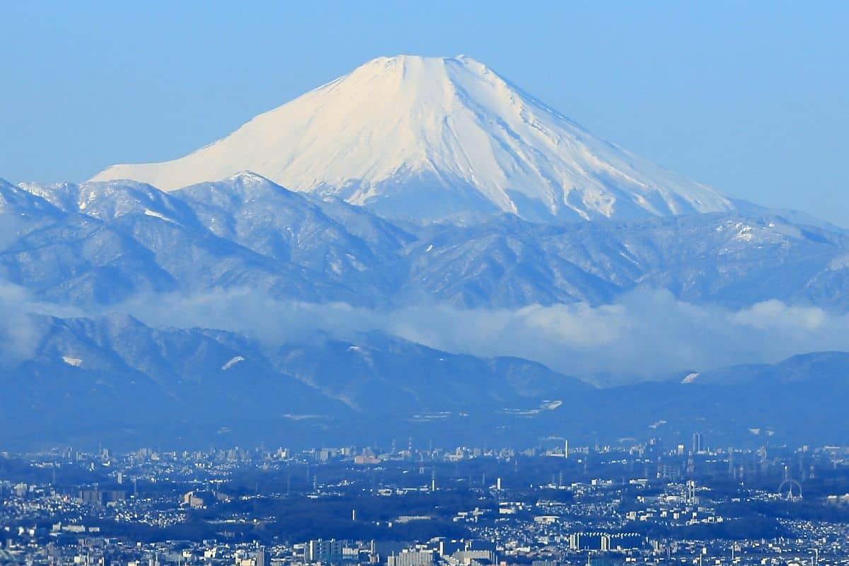ชมภูเขาไฟฟูจิจากเมืองโตเกียว ที่ Tokyo Sky Tree