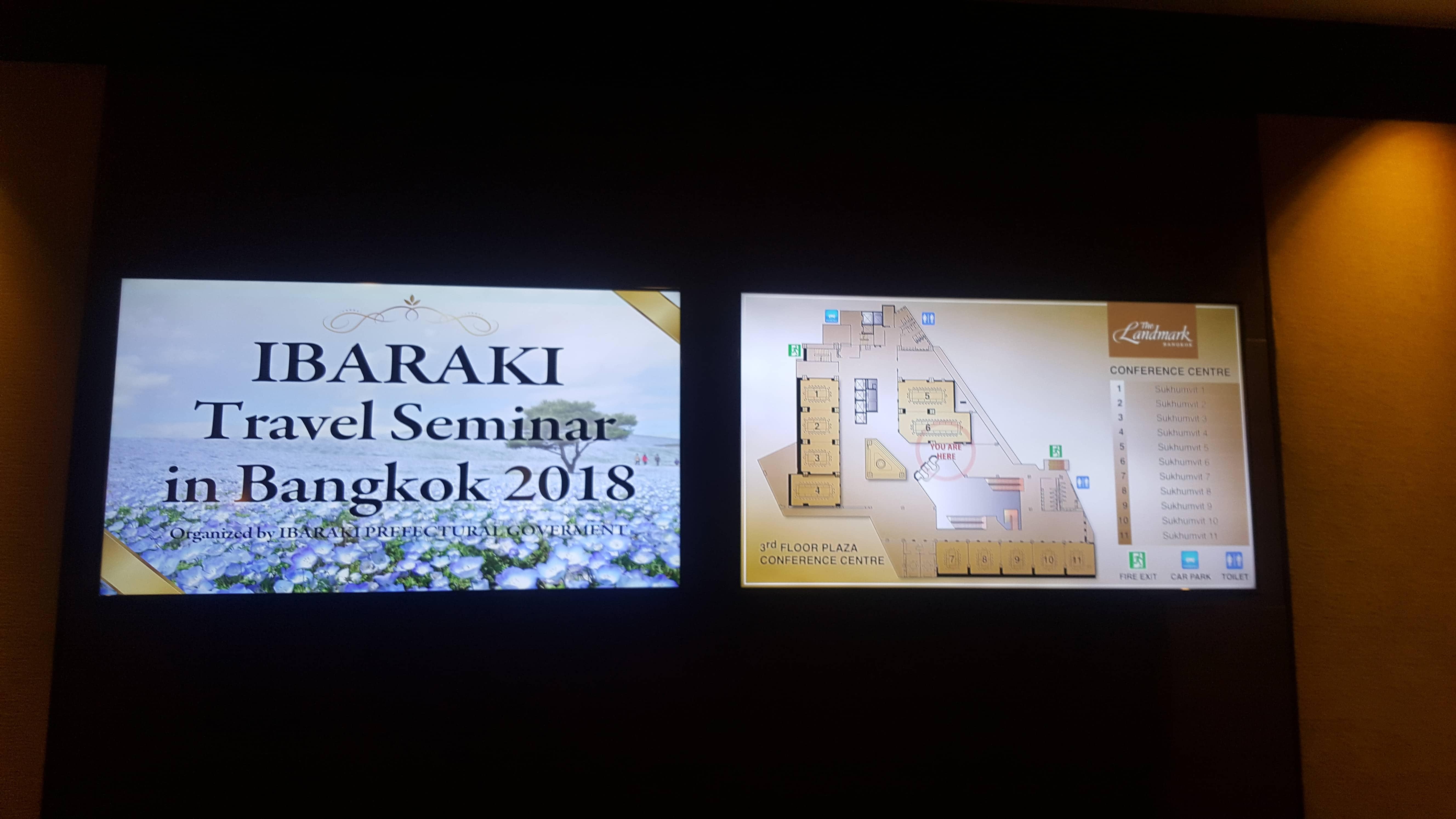 Ibaraki Travel Seminar in Bangkok 2018