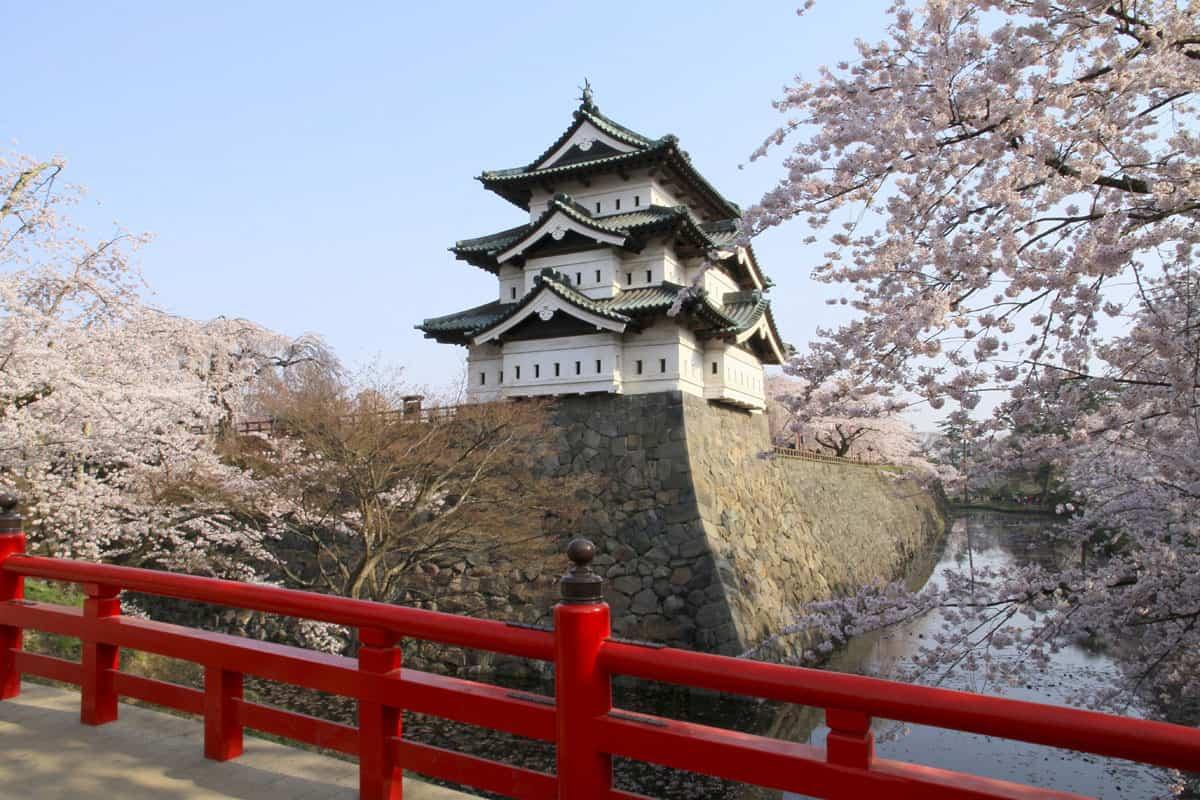 สวนปราสาทฮิโรซากิ (Hirosaki Castle Park)