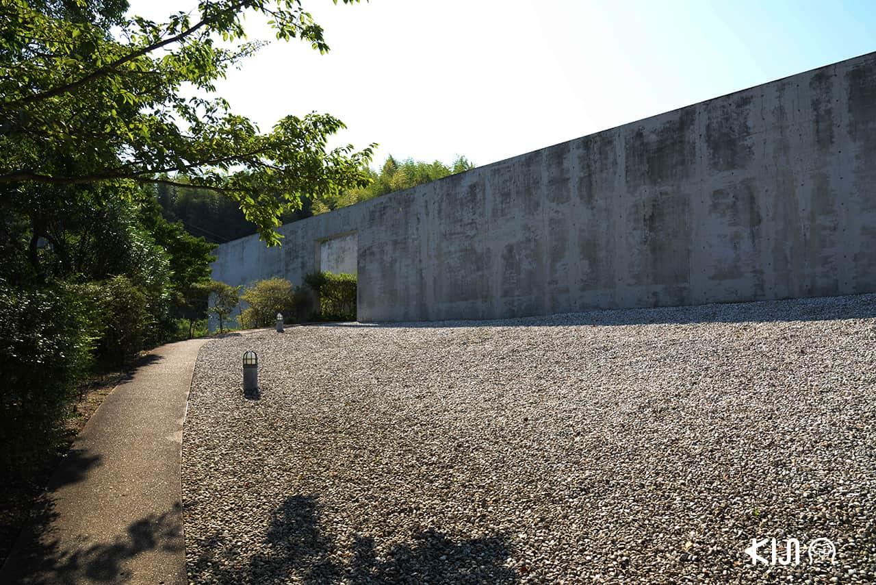 ฮมปุคุจิหรือWater Temple ออกแบบโดยทะดะโอะ อันโดะ (Tadao Ando)