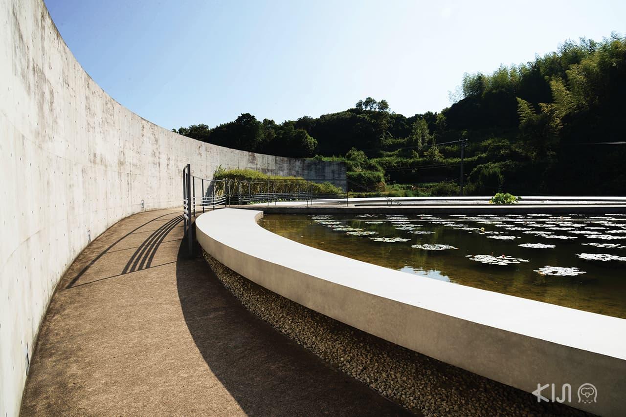 Water Temple นี้ มันคือการตีความพุทธศาสนาผ่านสถาปัตยกรรมด้วยสัญลักษณ์ของน้ำ ผลงานการออกแบบของทะดะโอะ อันโดะ (Tadao Ando)